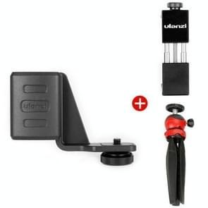 Ulanzi Mobile Phone Bracket + Uitbreidingsbeugel + statief voor DJI OSMO Pocket (Zwart Rood)