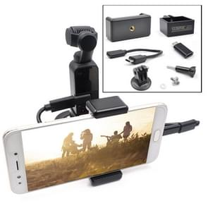 STARTRC ABS Handheld Mobiele Telefoon Clip Holder Uitbreiding Accessoires met Android USB Data Cable voor DJI OSMO Pocket