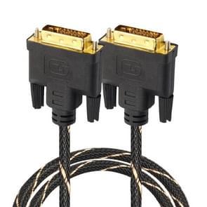 DVI 24 + 1 pin male naar DVI 24 + 1 pin Male grid adapter kabel (1.8 m)