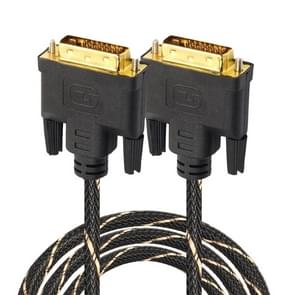 DVI 24 + 1 pin male naar DVI 24 + 1 pin Male grid adapter kabel (3m)