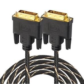 DVI 24 + 1 pin male naar DVI 24 + 1 pin Male grid adapter kabel (5m)