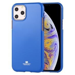 MERCURY GOOSPERY JELLY TPU schokbestendig en kras Case voor iPhone 11 Pro Max (blauw)