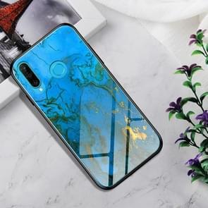 Schokbestendig gehard glas + TPU Case voor Huawei P30 Lite (Rankin)