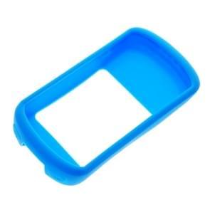 Fiets code tabel schokbestendig silicone kleurrijke beschermende case voor Garmin Edge 1030 (blauw)