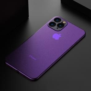 Voor iPhone 11 Pro Max ultradun Frosted PP geval (paars)