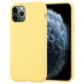 Voor iPhone 11 Pro Max MERCURY GOOSPERY stijl LUX schokbestendig Soft TPU case (geel)