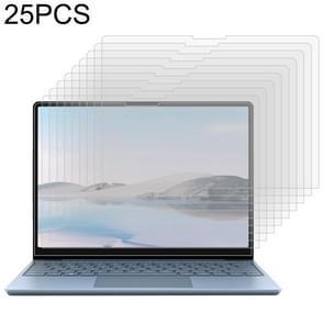 Voor Surface Laptop Go 25 PCS 9H HD explosiebestendige gehard glasfilm