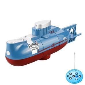 LSRC Mini USB Opladen Afstandsbediening Submarine Kinderen Speelgoed (Blauw)