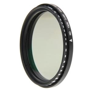 55mm ND fader neutrale dichtheid instelbaar variabel filter  ND2 naar ND400 filter