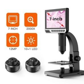inskam315 7 inch IPS-scherm 2000X 12MP HD digitale microscoop