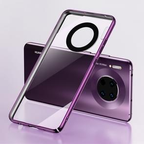 Voor Huawei mate 30 Benks schokbestendige PC plating beschermhoes (paars)