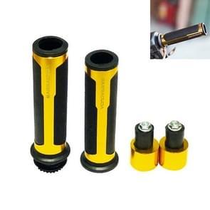 Motorcycle Modification Accessoires Hand Grip Cover Stuur Set (Goud)