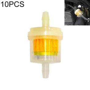 10 PCS Universal Car Engine Oil Separator Reservoir Tankfilter  Style:Without Magnet