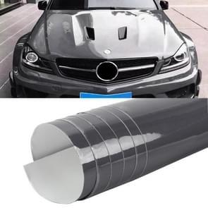 1.52 x 0.5m Auto Decoratieve Wrap Film Crystal PVC Body Changing Color Film (Crystal Grey)
