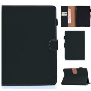 Voor Kindle Paperwhite 4 / 3 / 2 / 1 Solid Color Tablet PC Universal Magnetic Horizontal Flip Leather Case met kaartslots & houder(groen)