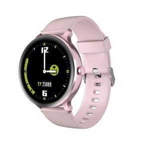 [HK-magazijn] Blackview X2 1 3 inch TFT-scherm 2 5D Gebogen glazen smart horloge met TPU-band  5ATM-waterdicht  ondersteuning hartslagmeter / slaapmonitor / 9 sportmodi(roze)