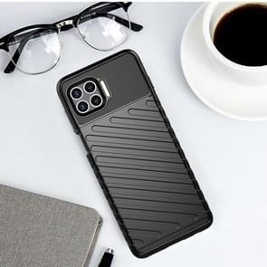 Voor Motorola Moto G 5G Plus Thunderbolt Schokbestendige TPU Beschermende softcase(zwart)