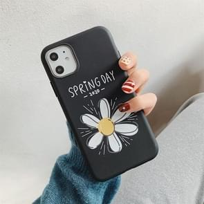 Voor iPhone 11 Pro Max Cartoon Patroon Frosted TPU Beschermhoes (Daisy)