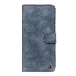 Voor Vivo X50 Pro Plus Antelope Texture Magnetic Buckle Horizontale Flip PU Lederen case met kaartslots & portemonnee & houder(blauw)