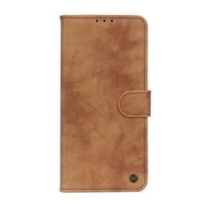 Voor Vivo X50 Pro Plus Antelope Texture Magnetic Buckle Horizontale Flip PU Lederen case met kaartslots & portemonnee & houder(bruin)
