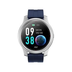 [HK-magazijn] ELEPHONE R8 1 3 inch kleurenscherm Bluetooth 5.0 Smart Watch met TPU-band  IP67 Waterdicht  Ondersteuning hartslagmeter / slaapmonitor(Zilver + Blauw)