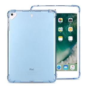 Zeer transparante TPU Full Thicken Corners Schokbestendige beschermhoes voor iPad Air (2020) 10.9(Blauw)