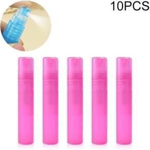 10 PCS 5ml Desinfectie Masker Spray Bottle Lege Fles (Roze)