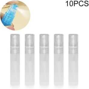 10 PCS 5ml Desinfectie masker spray fles lege fles(transparant)