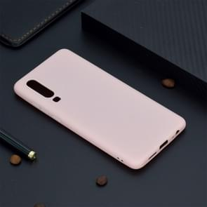Candy Color TPU Case voor Huawei P30 (roze)