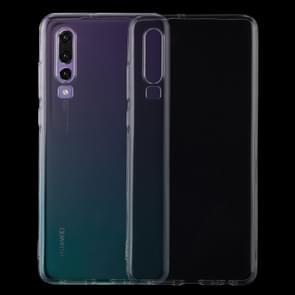 0 75 mm uiterst dunne transparante TPU beschermende softcase voor Huawei P30