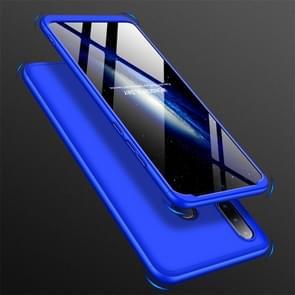 GKK drie stage splicing volledige dekking PC Case voor Huawei Nova 4e/P30 Lite (blauw)