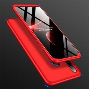 GKK drie stage splicing volledige dekking PC Case voor Huawei Nova 4e/P30 Lite (rood)