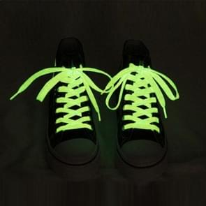 1 Pair Noctilucent Shoelaces  Length: About 80cm(Yellow)