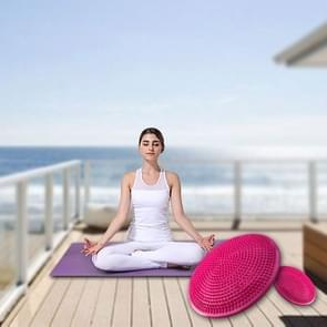 Thick Explosion-proof Yoga Special Massage Balance Cushion(Pink)
