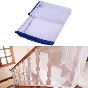 3m verdikking Veiligheidscope gevlochten balkon trap Safety net voor kind (blauw)