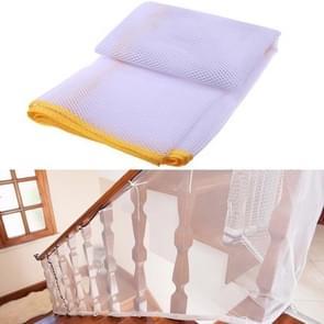 3m verdikking Veiligheidscope gevlochten balkon trap Safety net voor kind (geel)