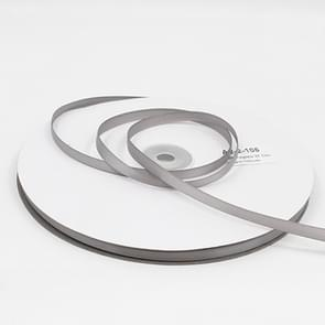 Hoge dichtheid polyester hand geweven lint  grootte: 91m x 0.6 cm (grijs)
