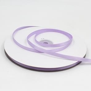 Hoge dichtheid polyester hand geweven lint  grootte: 91m x 0.6 cm (licht paars)