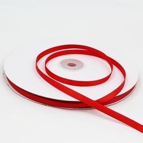 Hoge dichtheid polyester hand geweven lint  grootte: 91m x 0.6 cm (rood)