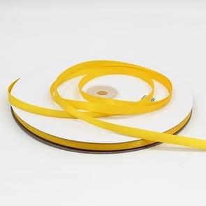 Hoge dichtheid polyester hand geweven lint  grootte: 91m x 0.6 cm (geel)