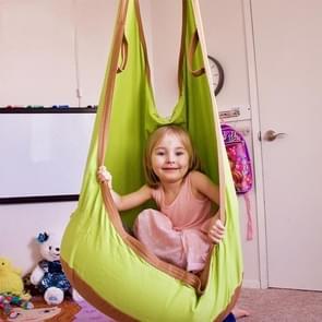 Volwassen en kinderen katoenen Canvas Swing Indoor Housetop opknoping hangmat  grootte: 55 * 75 * 145 cm  willekeurige kleur levering