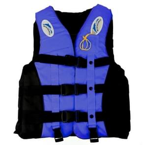 Drifting Swimming Fishing Life Jackets with Whistle for Children  Size:S(Blue)