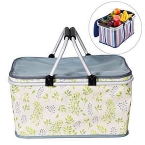32L buiten Fold Oxford doek patroon handtas picknick geïsoleerd tas opslagplaats