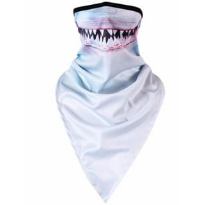 Multifunction Outdoor Windproof Triangle Towel Animal Mask Hood