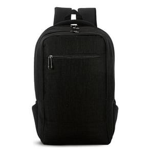 Universele multifunctionele 15.6 inch Laptop Schouderstas studenten Backpack voor MacBook  Samsung  Lenovo  Sony  Dell  Chuwi  Asus  HP  Afmetingen: 43 x 28 x 12 cm (zwart)