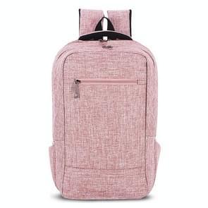 Universele multifunctionele 15.6 inch Laptop Schouderstas studenten Backpack voor MacBook  Samsung  Lenovo  Sony  Dell  Chuwi  Asus  HP  Afmetingen: 43 x 28 x 12 cm (khaki)