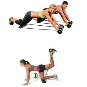 Multifunctionele oefening Home Fitness apparatuur intensiteit verstelbare abdominale wiel weerstand Pull touw spierkracht