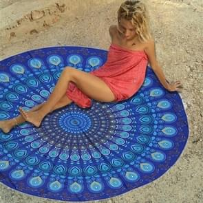 Microfiber Summer Bath Towel Round Sand Beach Towel Shawl Scarf  Size: 150 x 150cm
