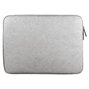 Universele 15.6 inch Business stijl Laptoptas Sleeve met Oxford stof voor MacBook  Samsung  Lenovo  Sony  Dell  Chuwi  Asus  HP (grijs)