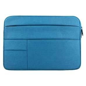 Universele 14 inch Laptoptas Sleeve met Oxford stof en meerdere zijvakjes voor MacBook  Samsung  Lenovo  Sony  Dell  Chuwi  Asus  HP (blauw)
